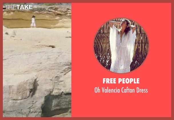 Free People white dress from By the Sea seen with Angelina Jolie (Vanessa)