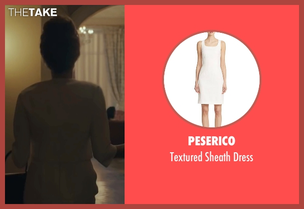 Peserico white dress from By the Sea seen with Angelina Jolie (Vanessa)