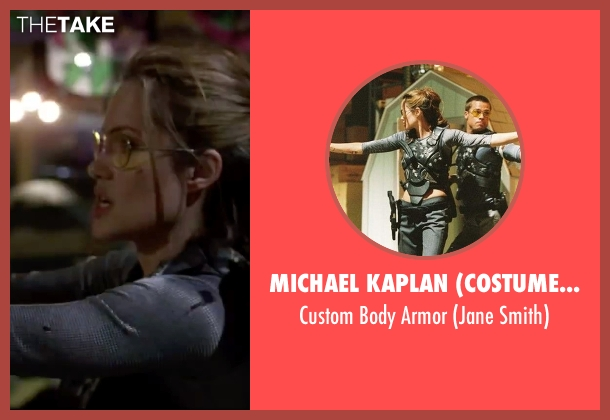 Michael Kaplan (Costume Desinger) armor from Mr. & Mrs. Smith seen with Angelina Jolie (Jane Smith)