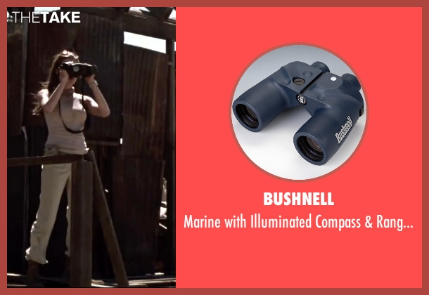 Bushnell binoculars from Mr. & Mrs. Smith seen with Angelina Jolie (Jane Smith)