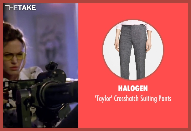 Halogen gray pants from Mr. & Mrs. Smith seen with Angelina Jolie (Jane Smith)