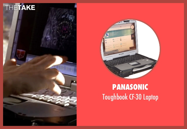 Panasonic laptop from Mr. & Mrs. Smith seen with Angelina Jolie (Jane Smith)