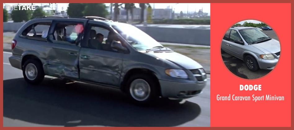 Dodge minivan from Mr. & Mrs. Smith seen with Angelina Jolie (Jane Smith)