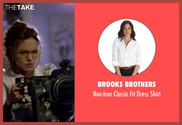 Brooks Brothers white shirt from Mr. & Mrs. Smith seen with Angelina Jolie (Jane Smith)
