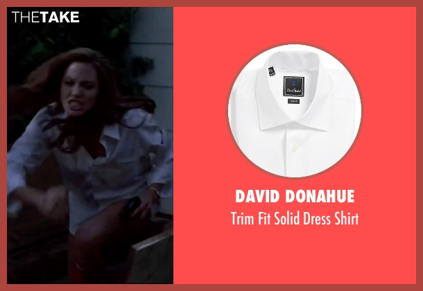 David Donahue white shirt from Mr. & Mrs. Smith seen with Angelina Jolie (Jane Smith)