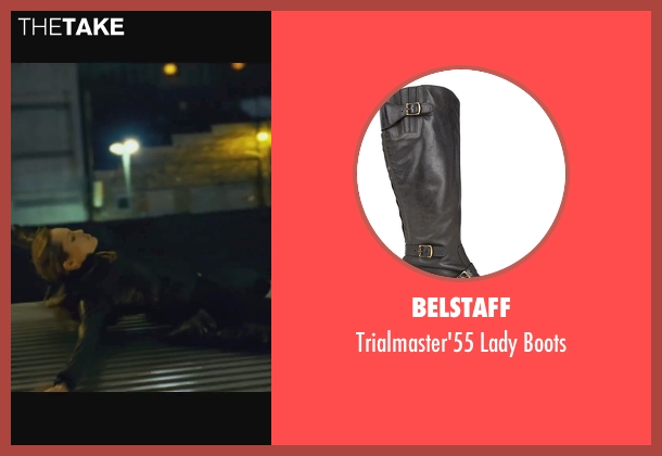 Belstaff black boots from Wanted seen with Angelina Jolie (Fox)