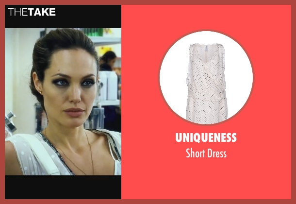 Uniqueness white dress from Wanted seen with Angelina Jolie (Fox)