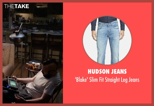 Hudson Jeans blue jeans from Insidious: Chapter 3 seen with Angus Sampson (Tucker)