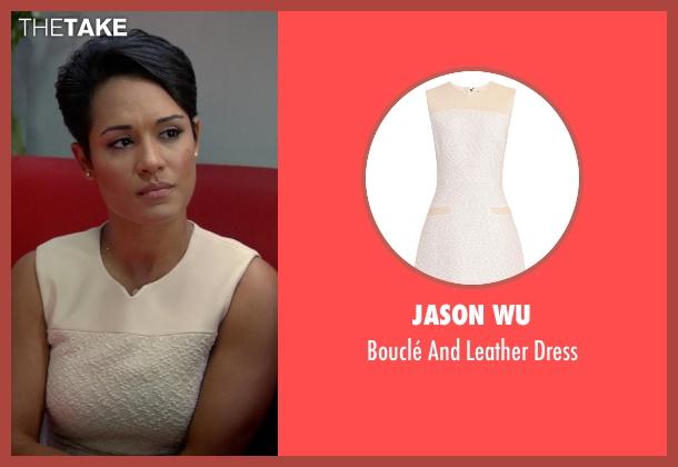 Jason Wu beige dress from Empire seen with Anika Calhoun (Grace Gealey)