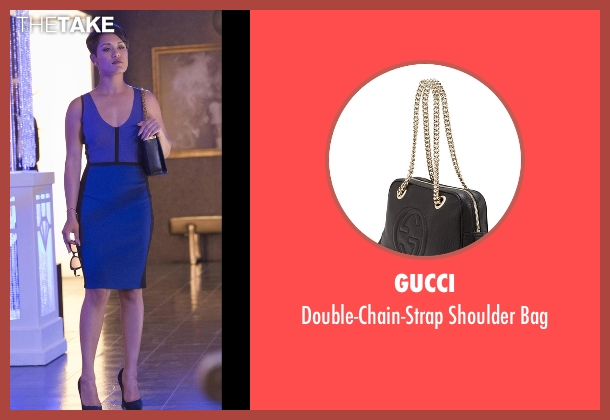 Gucci black bag from Empire seen with Anika Calhoun (Grace Gealey)