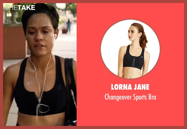 Lorna Jane black bra from Empire seen with Anika Calhoun (Grace Gealey)