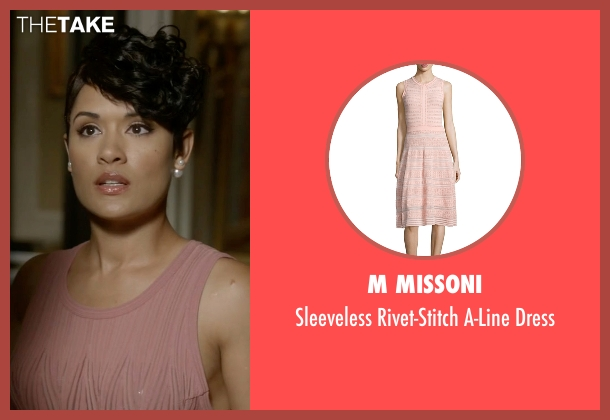 M Missoni pink dress from Empire seen with Anika Calhoun (Grace Gealey)