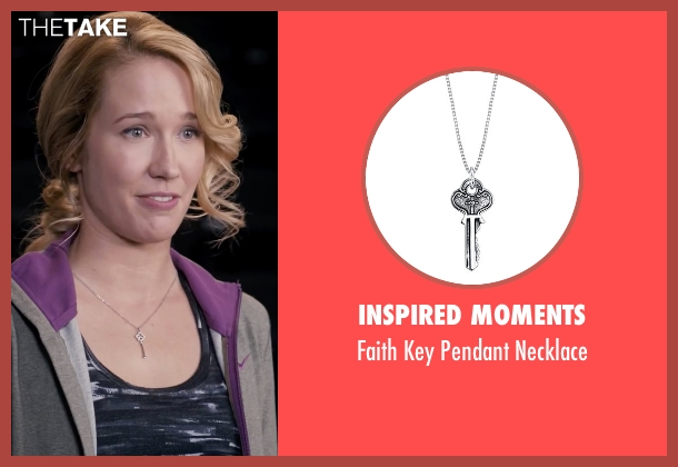 Inspired Moments silver necklace from Pitch Perfect seen with Anna Camp (Aubrey)