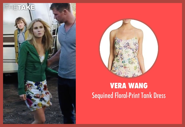 Vera Wang white dress from Cabin in the Woods seen with Anna Hutchison (Jules)