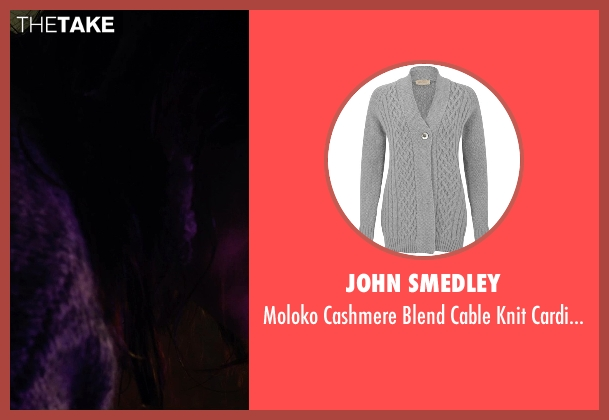 John Smedley gray cardigan from Before I Wake seen with Annabeth Gish (Natalie)