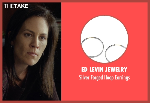 Ed Levin Jewelry silver earrings from Before I Wake seen with Annabeth Gish (Natalie)