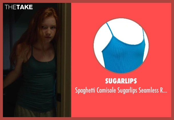 Sugarlips blue top from Oculus seen with Annalise Basso (Young Kaylie Russell)