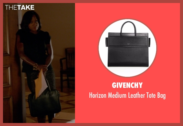 Givenchy black bag from How To Get Away With Murder seen with Annalise Keating (Viola Davis)