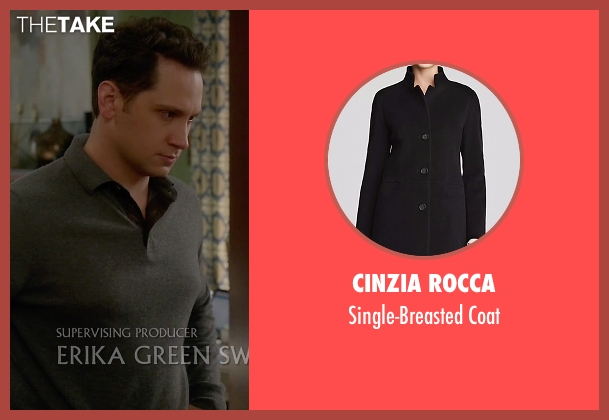 Cinzia Rocca black coat from How To Get Away With Murder seen with Annalise Keating (Viola Davis)