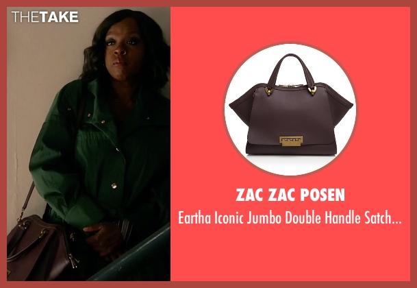 Annalise Keating S Brown Zac Zac Posen Eartha Iconic Jumbo