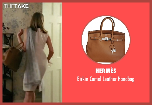 Hermès brown handbag from The Women seen with Annette Bening (Sylvie Fowler)