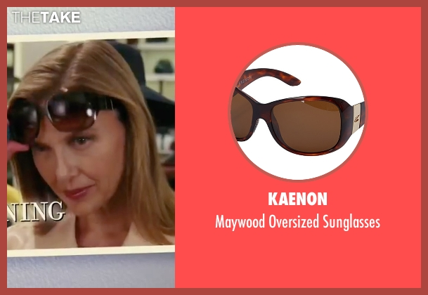 Kaenon brown sunglasses from The Women seen with Annette Bening (Sylvie Fowler)