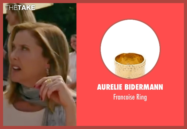 Aurelie Bidermann gold ring from The Women seen with Annette Bening (Sylvie Fowler)