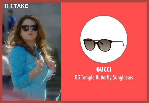 Gucci brown sunglasses from Bad Moms seen with Annie Mumolo (Vicky)