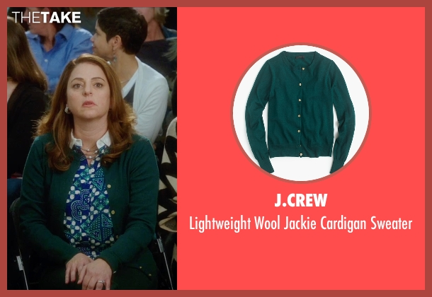J.Crew green sweater from Bad Moms seen with Annie Mumolo (Vicky)