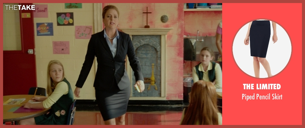 The Limited skirt from The Boss seen with Annie Mumolo (Helen)