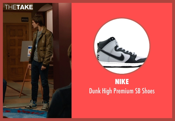 Nike white shoes from The Fault In Our Stars seen with Ansel Elgort (Augustus Waters)