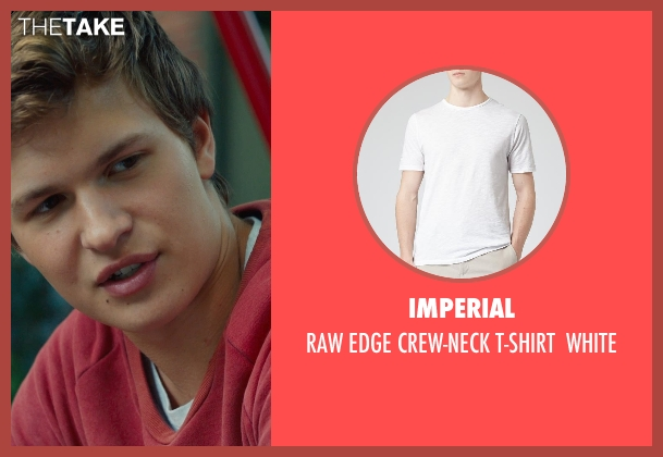 IMPERIAL white white from The Fault In Our Stars seen with Ansel Elgort (Augustus Waters)