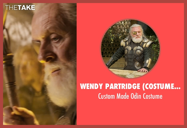 Wendy Partridge (Costume Designer) costume from Thor: The Dark World seen with Anthony Hopkins (Odin)