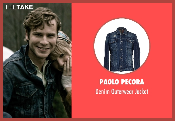 Paolo Pecora blue jacket from The Age of Adaline seen with Anthony Ingruber (Young William)