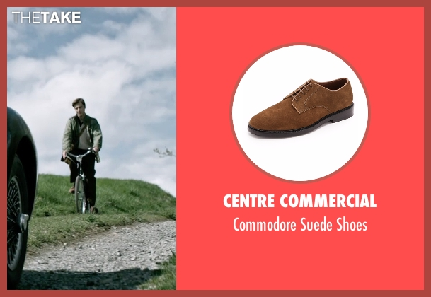 Centre Commercial brown shoes from The Age of Adaline seen with Anthony Ingruber (Young William)