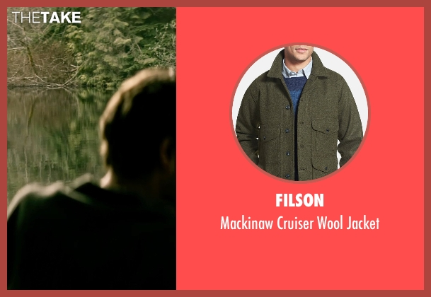 Filson green jacket from The Age of Adaline seen with Anthony Ingruber (Young William)