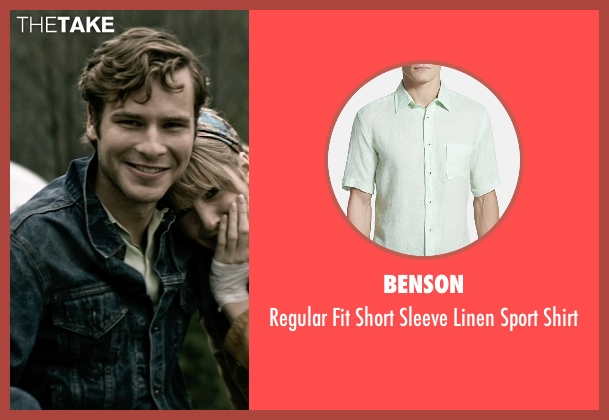 Benson green shirt from The Age of Adaline seen with Anthony Ingruber (Young William)