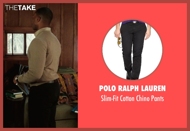 Polo Ralph Lauren black pants from Our Brand Is Crisis seen with Anthony Mackie (Ben)