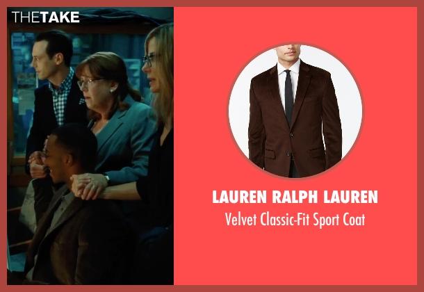 Lauren Ralph Lauren brown coat from Our Brand Is Crisis seen with Anthony Mackie (Ben)