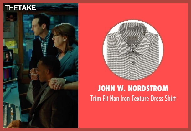 John W. Nordstrom gray shirt from Our Brand Is Crisis seen with Anthony Mackie (Ben)