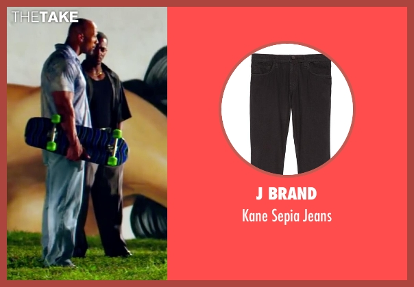 J Brand black jeans from Pain & Gain seen with Anthony Mackie (Adrian Doorbal)