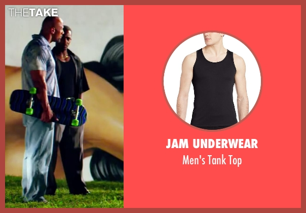 Jam Underwear black top from Pain & Gain seen with Anthony Mackie (Adrian Doorbal)