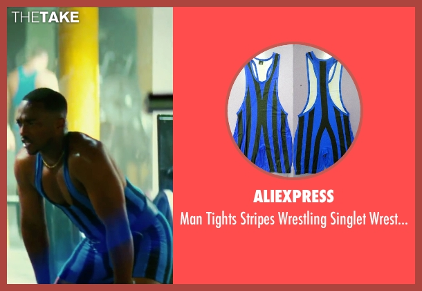 Aliexpress bodywear from Pain & Gain seen with Anthony Mackie (Adrian Doorbal)