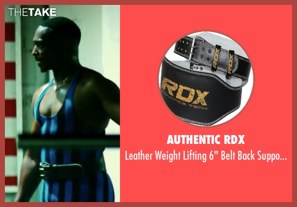 Authentic RDX fitness from Pain & Gain seen with Anthony Mackie (Adrian Doorbal)