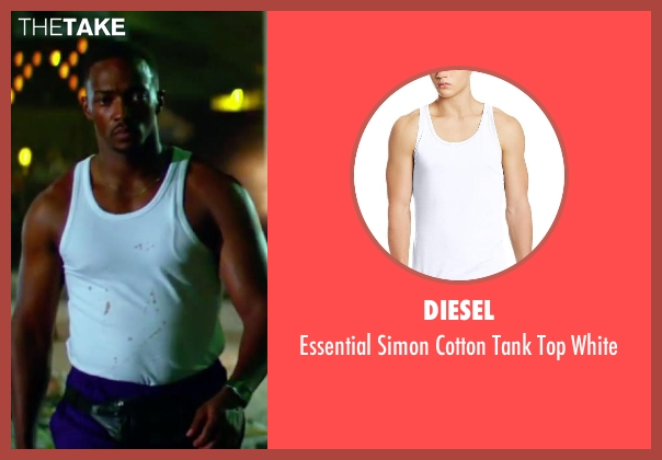 Diesel white white from Pain & Gain seen with Anthony Mackie (Adrian Doorbal)
