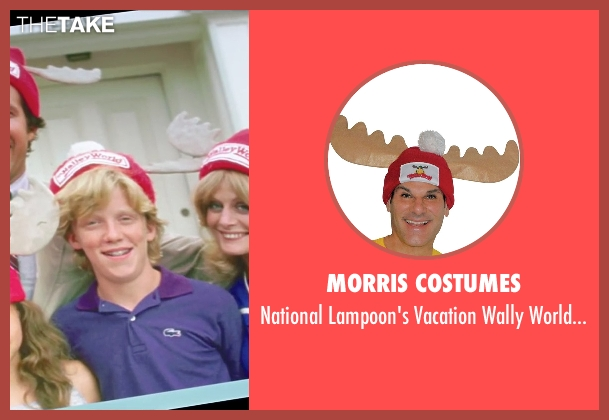 Morris Costumes hat from Vacation seen with Anthony Michael Hall (Rusty Griswold)