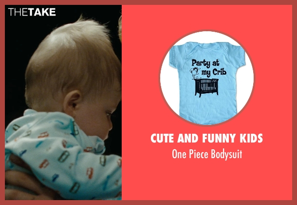 Cute And Funny Kids blue bodysuit from The Place Beyond The Pines seen with Anthony Pizza (Baby Jason (as Anthony Angelo Pizza Jr.))