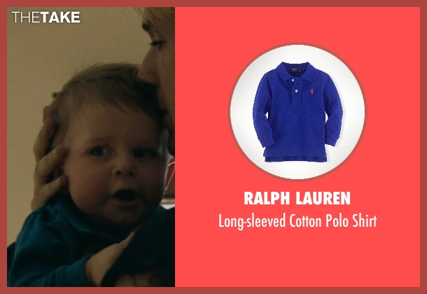 Ralph Lauren blue shirt from The Place Beyond The Pines seen with Anthony Pizza (Baby Jason (as Anthony Angelo Pizza Jr.))