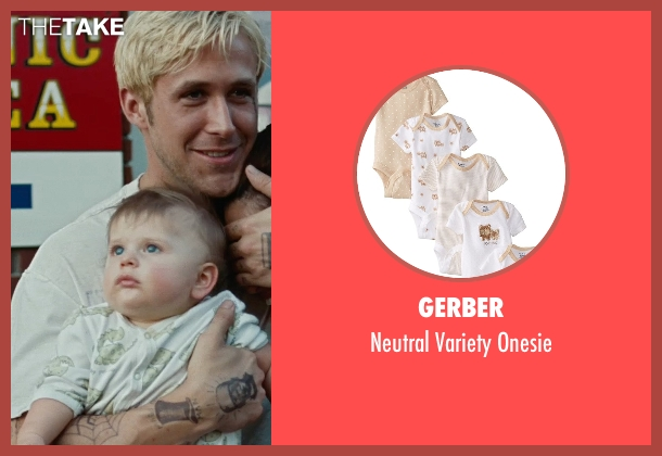 Gerber white onesie from The Place Beyond The Pines seen with Anthony Pizza (Baby Jason (as Anthony Angelo Pizza Jr.))