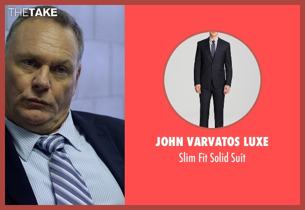 John Varvatos Luxe blue suit from Need for Speed seen with Antoni Corone (Detective #2)
